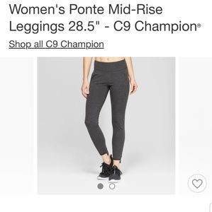 NWT C9 Champion mid rise leggings